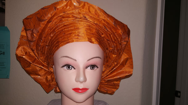 Orange Gele - Express Gele