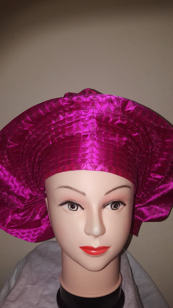Pink Sego Headwrap
