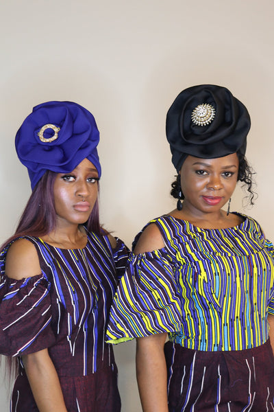 Black Turban - Express Gele