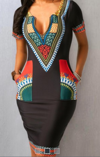 The Kem Ankara dress