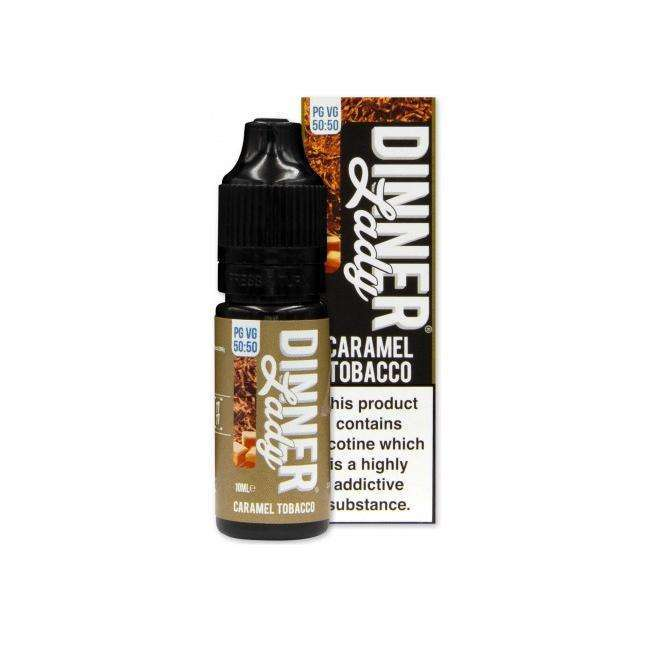 Dinner Lady Caramel Tobacco 10ml