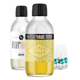 FLVRHAUS Bottle Shot Bundle - Custard Dream - 250ml