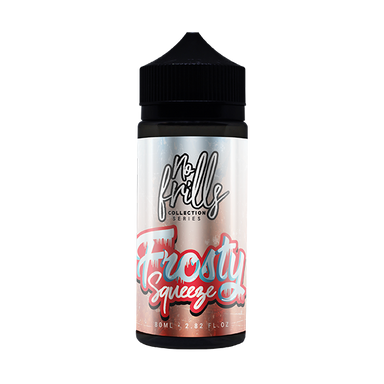 No Frills Collection Series - Frosty Squeeze Apple & Raspberry 80ml