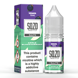 SQZD Juice Co. - Apple Blackcurrant 10ml Nic Salt