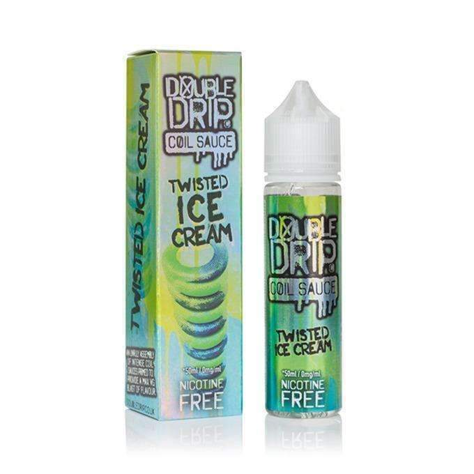 Twisted Ice Cream 50ml Shortfill E-Liquid by Double Drip
