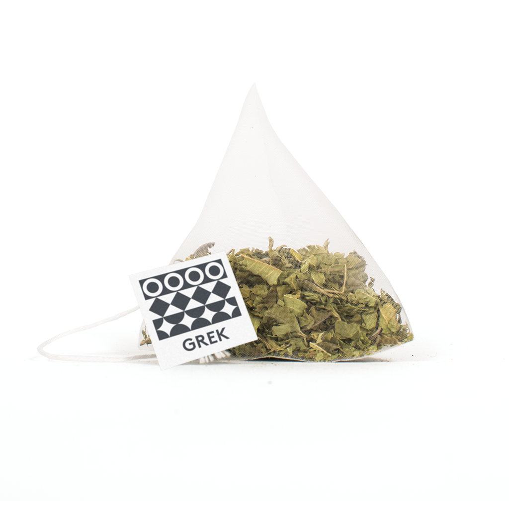 GREK organic lemon verbena tea pyramid tea bag