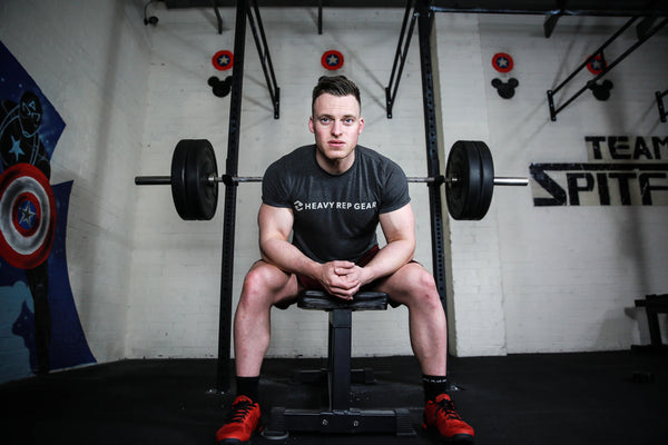 Matt Deller from CrossFit Spitfire joins Team Heavy Rep Gear