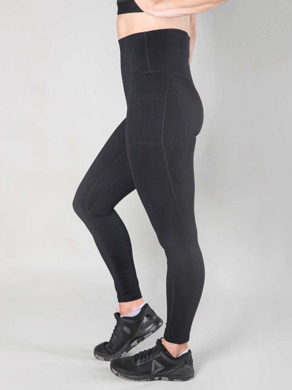 Nuluxe Leggings | Noir - Heavy Rep Gear