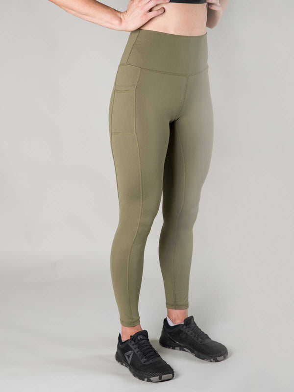 Nuluxe Leggings | Bali Green - Heavy Rep Gear