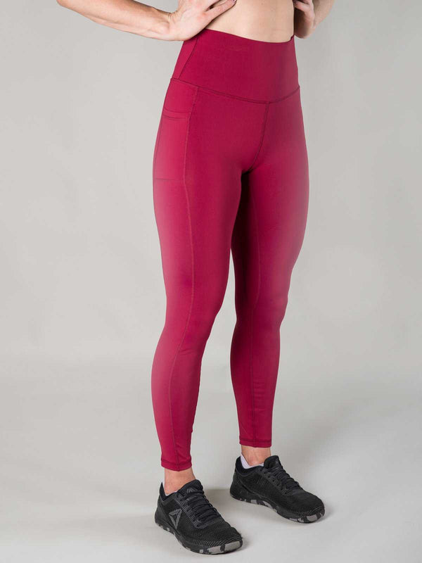 Nuluxe Leggings | Merlot - Heavy Rep Gear