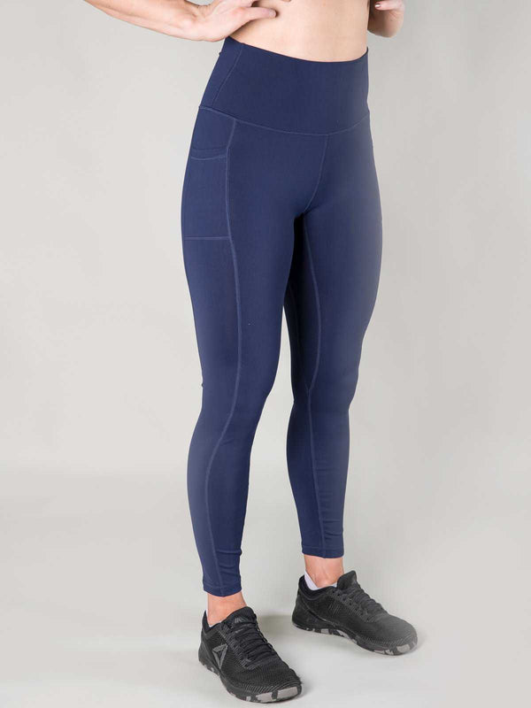 Nuluxe Leggings | Navy - Heavy Rep Gear