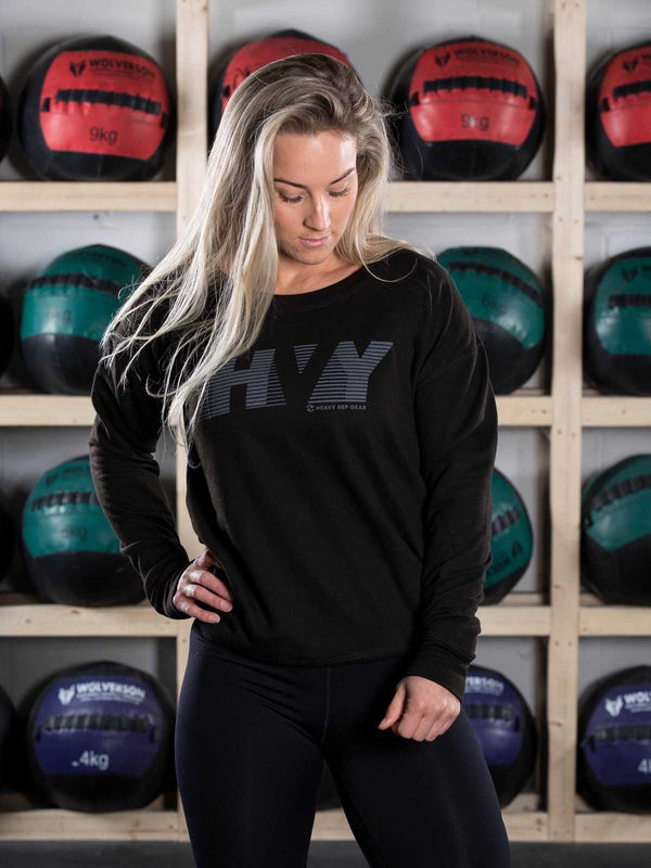 HVY Scoop Sweatshirt - Heavy Rep Gear