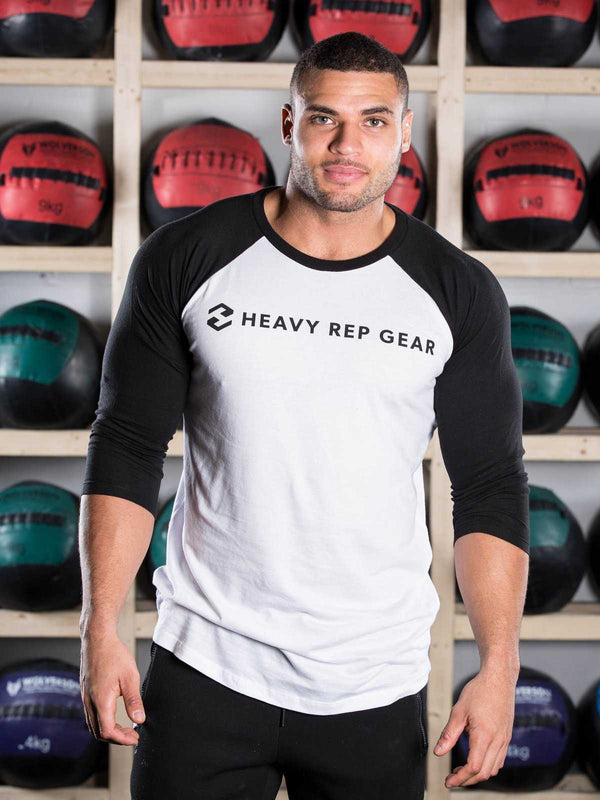 Heavy Rep Gear Baseball T-Shirt - Heavy Rep Gear