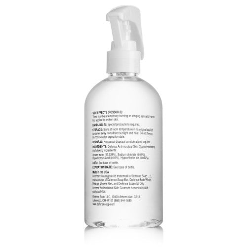 Defense Antimicrobial Skin Cleanser 8oz