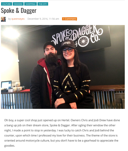 Buffalo Rising visits Spoke & Dagger Co.