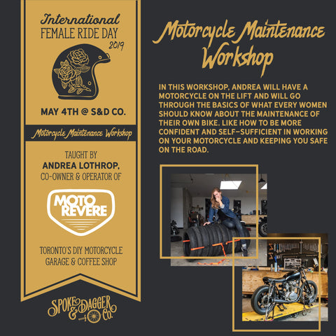 International Female Ride Day Workshop