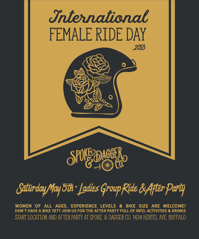 PAST EVENT: International Female Ride Day 2018