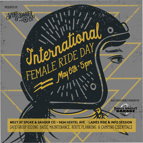PAST EVENT: International Female Ride Day (FREE)