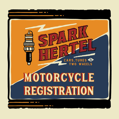 Spark Hertel MOTORCYCLE Registration