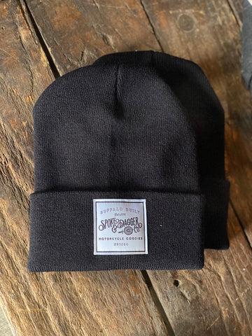 S&D Co. Motorcycle Goodies Beanie - Black
