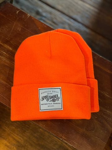 S&D Co. Motorcycle Goodies Beanie - Orange
