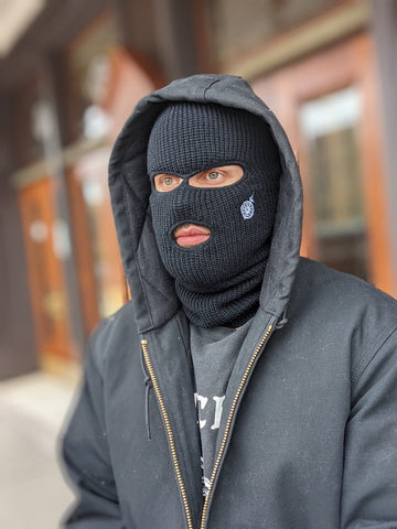 S&D Co. Ski Mask - Black Icon