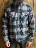 Duke Flannel - Gray/Black