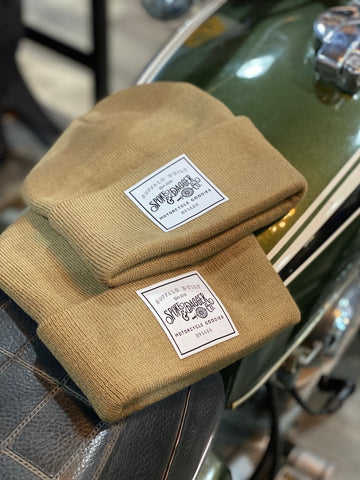 S&D Co. Motorcycle Goodies Beanie - Brown