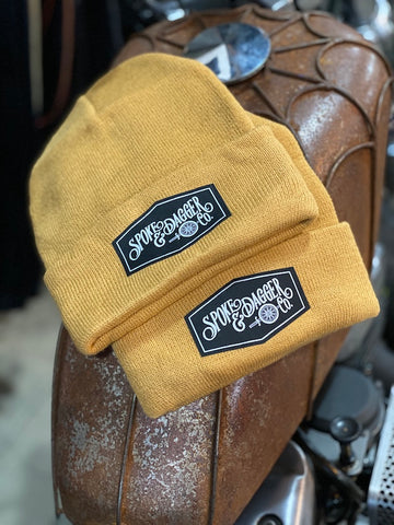 S&D Co. Hex Beanie - Mustard