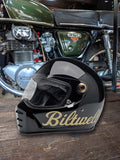 Biltwell Lane Splitter Helmet - Factory Gloss Black/Gold