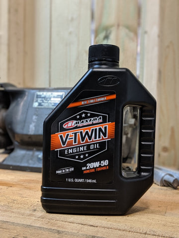 Maxima 20W-50 V-Twin Engine Oil
