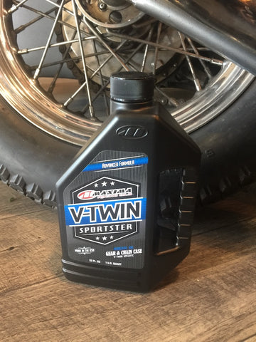 Maxima V-Twin Sportster Gear & Chain Case Oil