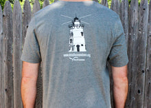 Load image into Gallery viewer, Believer in Abilities Lighthouse - Men's Crew Neck Short Sleeve T-Shirt-Deep Heather