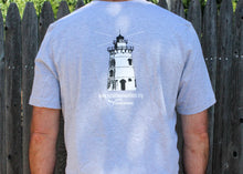 Load image into Gallery viewer, Believer in Abilities Lighthouse - Men's Crew Neck Short Sleeve T-Shirt-Athletic Heather