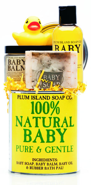 Natural Baby Gift Set by Plum Island Soap Co.