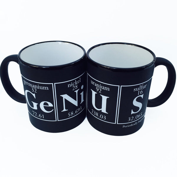 GENiUS Coffee Cup by Periodically Inspired