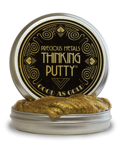 Good As Gold Thinking Putty by Crazy Aaron's Putty World