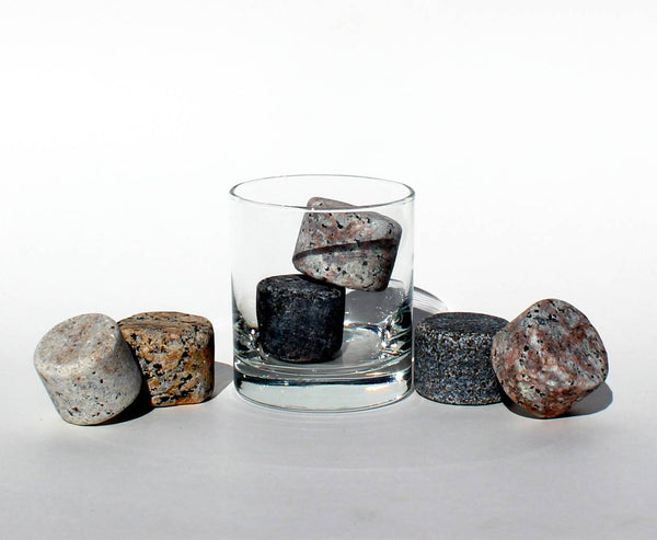 On the Rocks Whiskey Stones by Sea Stones