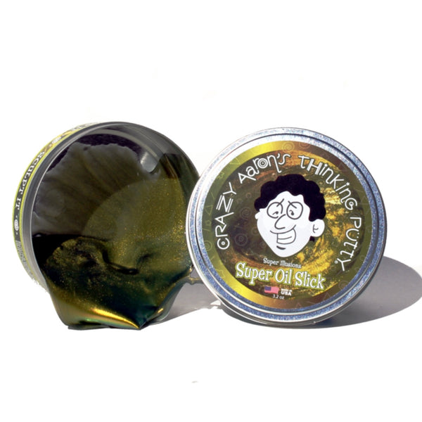 Super Oil Slick Thinking Putty by Crazy Aaron's Putty World