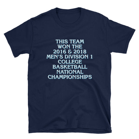 2018 Men's College Basketball Championship T-Shirt