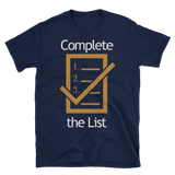 Complete The List T-Shirt