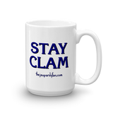 STAY CLAM Ceramic Mug