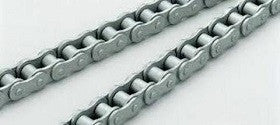 Dacromet Steel 40-1DR Single Strand Roller Chain