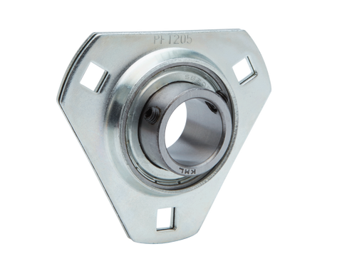 3-Bolt Flange Units Pressed Steel