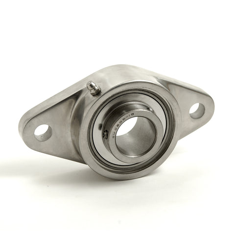 2-Bolt Flange Units Stainless Steel