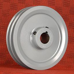 2BK100 X 1 | 2 Groove Sheave Finished Bore | Ball Bearings | Belts