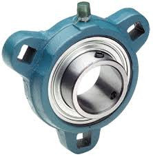 SBFCT206-19G | 3-BOLT FLANGE UNITS | Ball Bearings | Belts