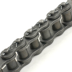 120-1HC Steel Cottered Chain 10' | 120-1R HEAVY SINGLE STRAND CARBON STEEL | Ball Bearings | Belts