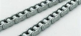 80-1R Dacromet Chain 10' | 80-1DR SINGLE STRAND DACROMET STEEL | Ball Bearings | Belts
