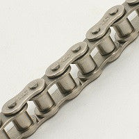 Nickle Plated Roller Chain 10'80-1NP | 80-1NP Nickel Plated Steel Single Strand Roller Chain | Ball Bearings | Belts